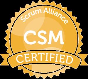 Certified ScrumMaster