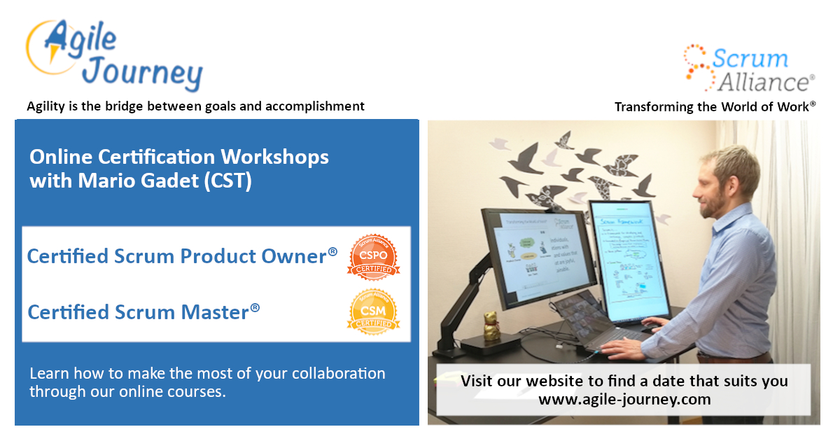 Agile Journey Certified Scrum Online Workshops