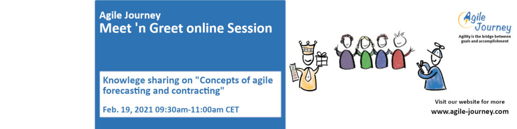 Agile Journey Meet 'n Greet 19.Feb.2021 online Session
